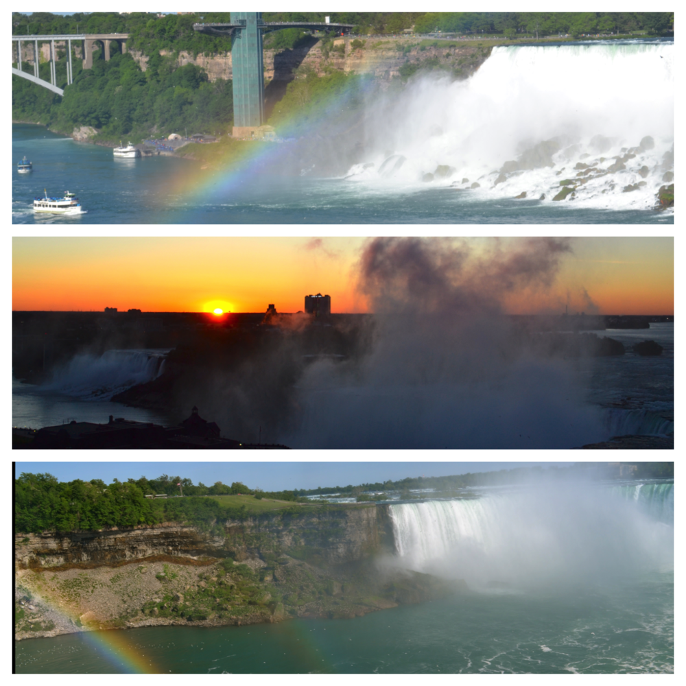 Niagara - Rainbows : Sunrise