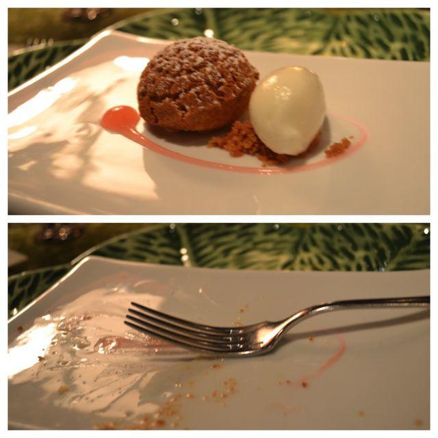 The Herbfarm – Three Desserts, Three Clean Plates