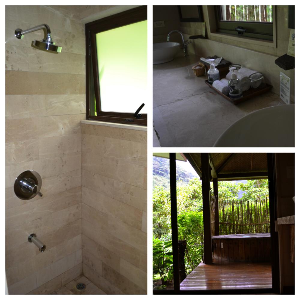 El Silencio Lodge - Costa Rica - Bathroom : Hot Tub
