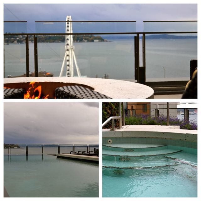 Four Seasons Seattle – pool, hottub, outdoor deck