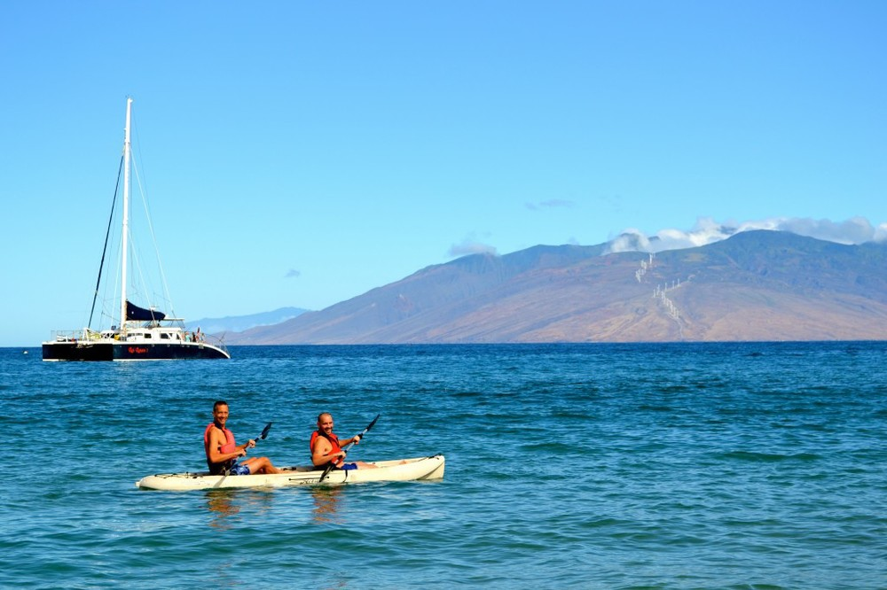 Maui – Kayaking