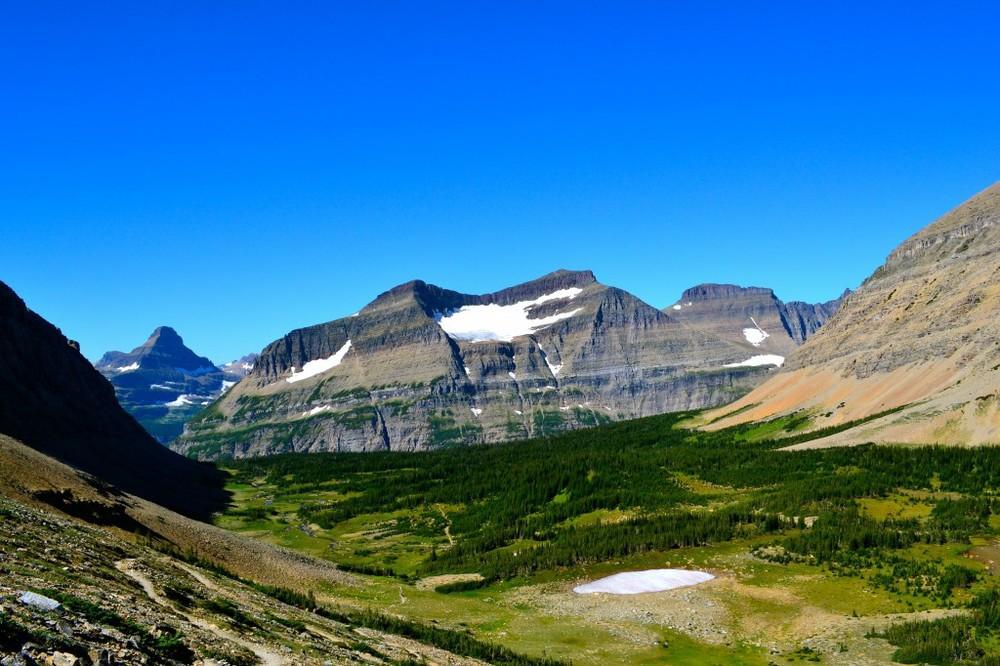 Siyeh Pass trail