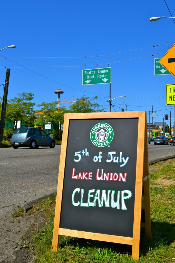 Seattle clean up