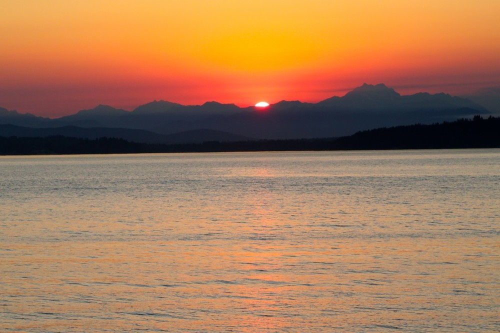 Puget Sound Sunset Sept 7