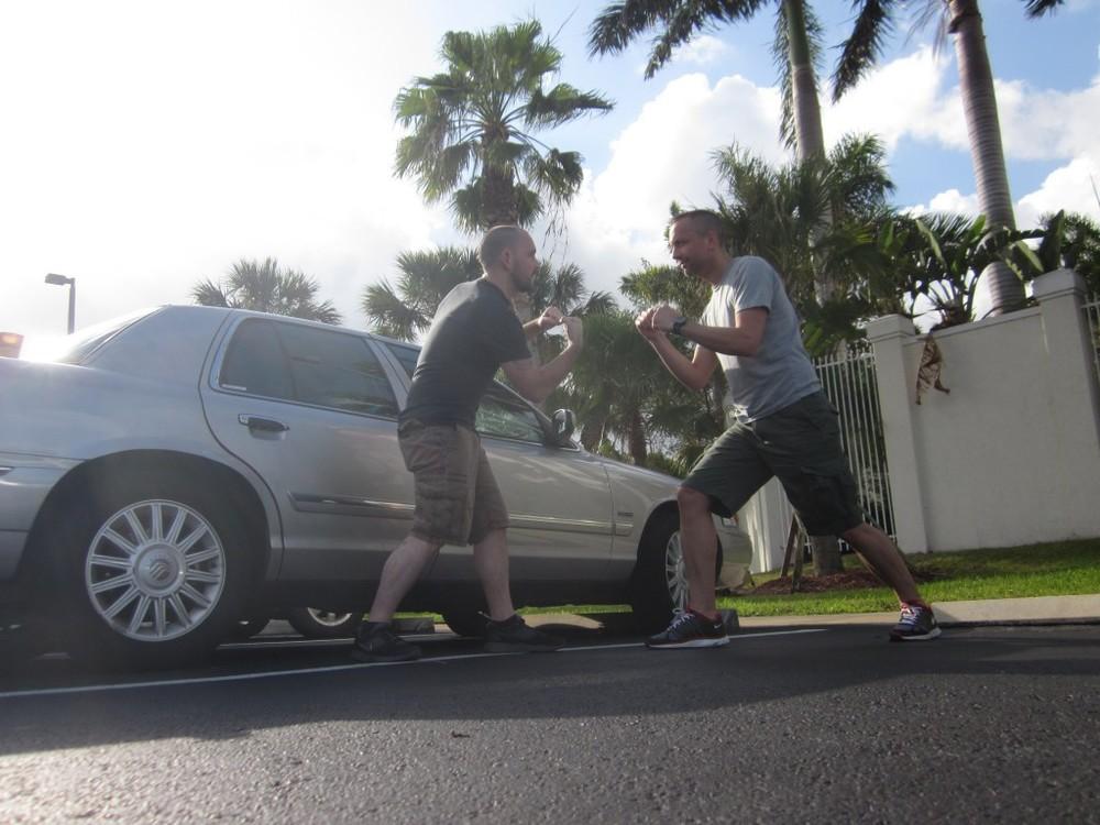 Fake fighting in Florida