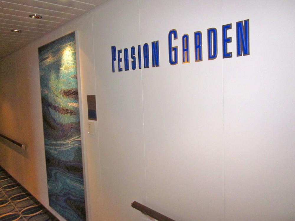 Celebrity Cruises –Solstice Class Ship – Persian Garden