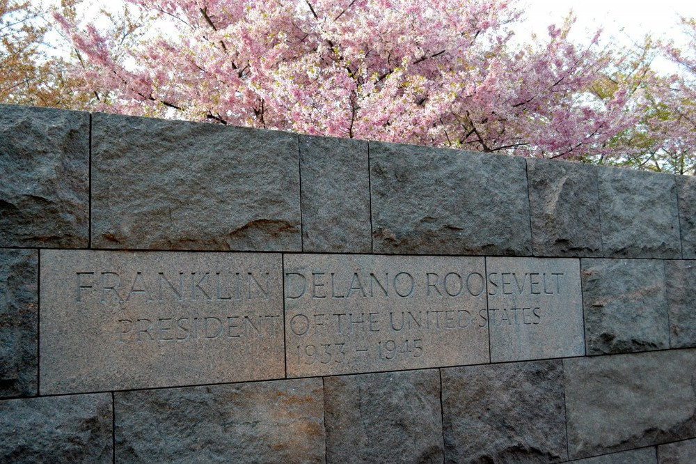 Franklin Delano Roosevelt Memorial - FDR Memorial - Washington D.C.