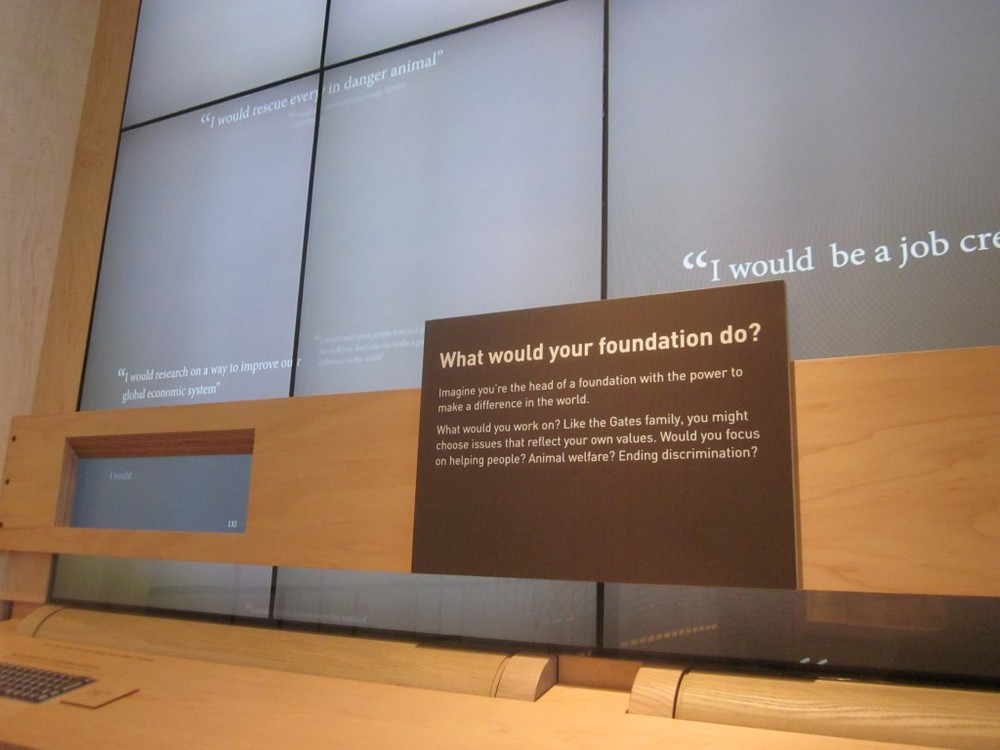 Bill and Melinda Gates Foundation – Visitor Center – Seattle, WA