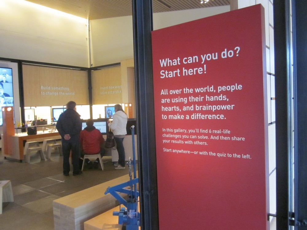 Bill and Melinda Gates Foundation – Visitor Center – Seattle, WA