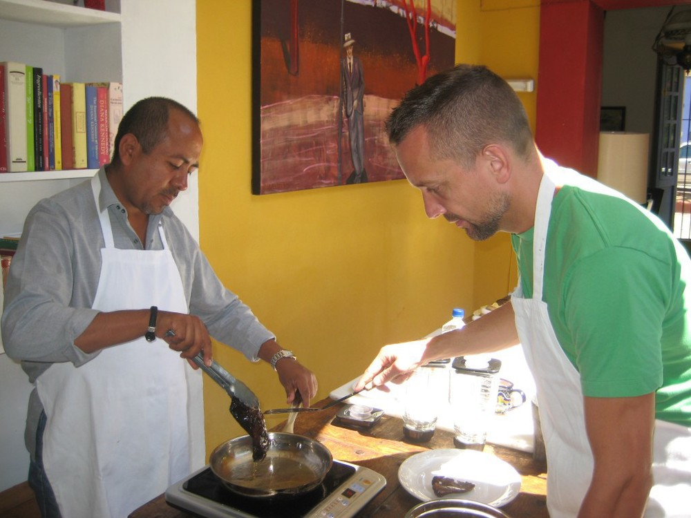 Cooking in Mexico