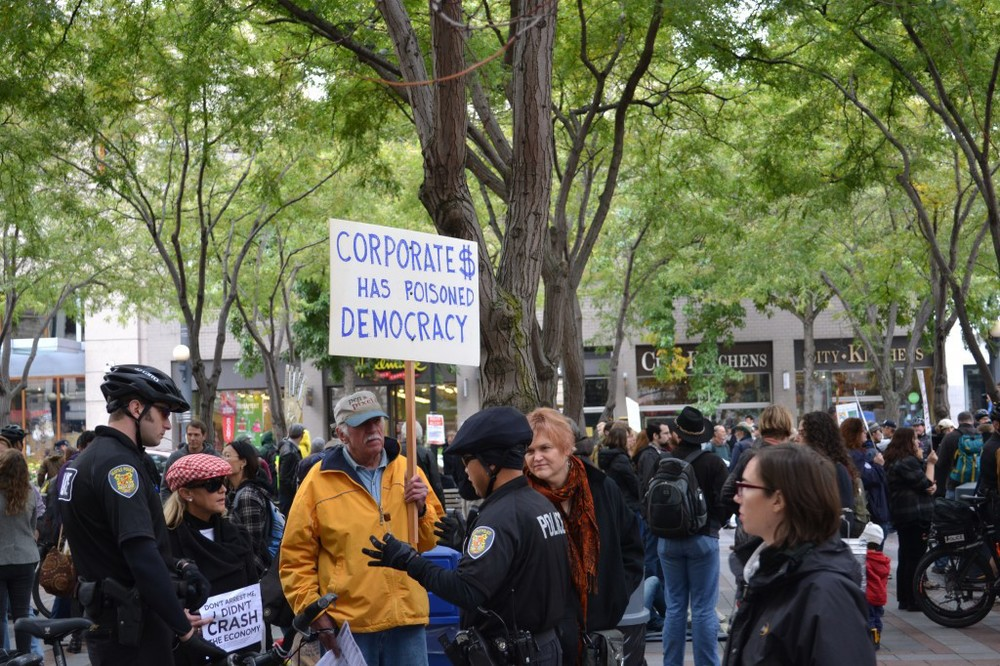 Occupy Seattle - it's diverse