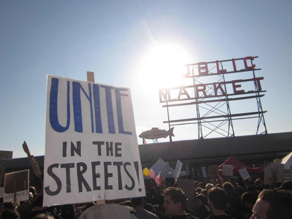 Occupy Seattle - it's democracy