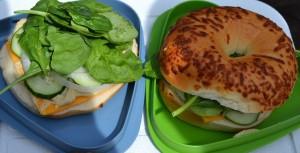 veg sandwich for lunch