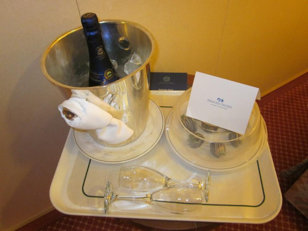champagne surprise!