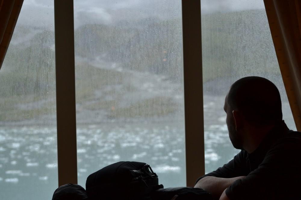 glacier peeping