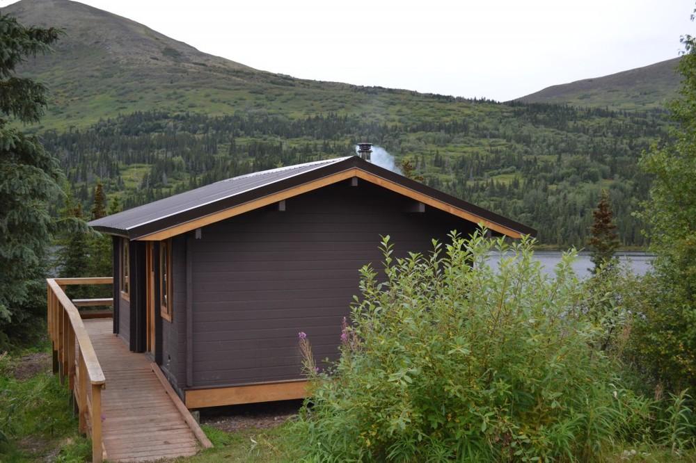 cabin - sleeping area