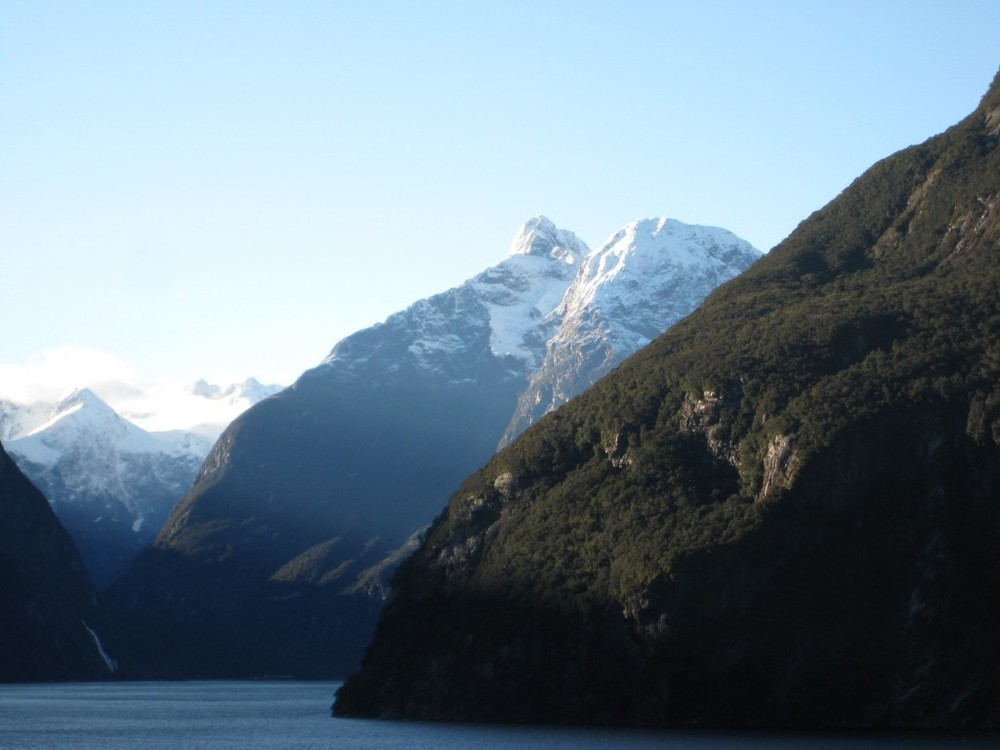 View from ship - New Zealand