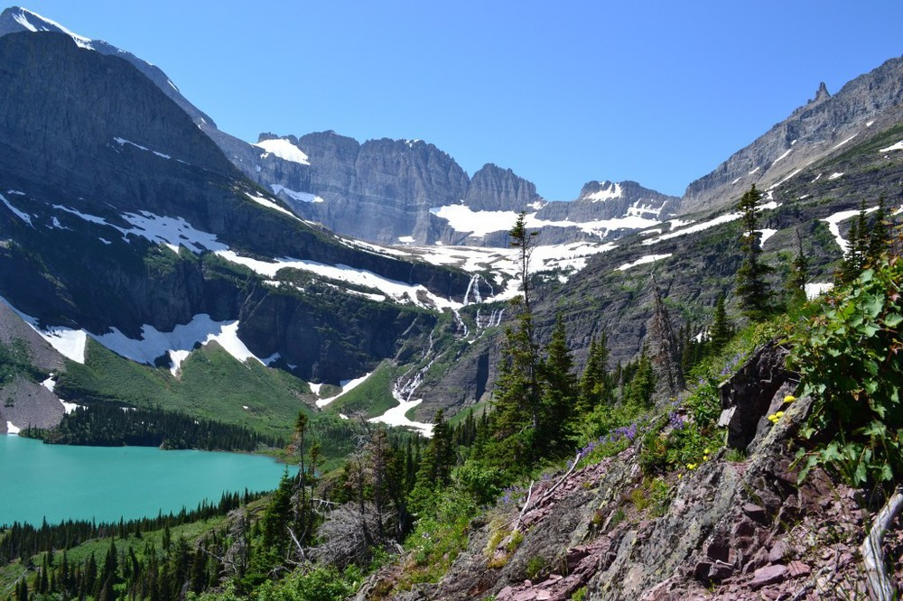 Glacier National Park - Grinnell Lake