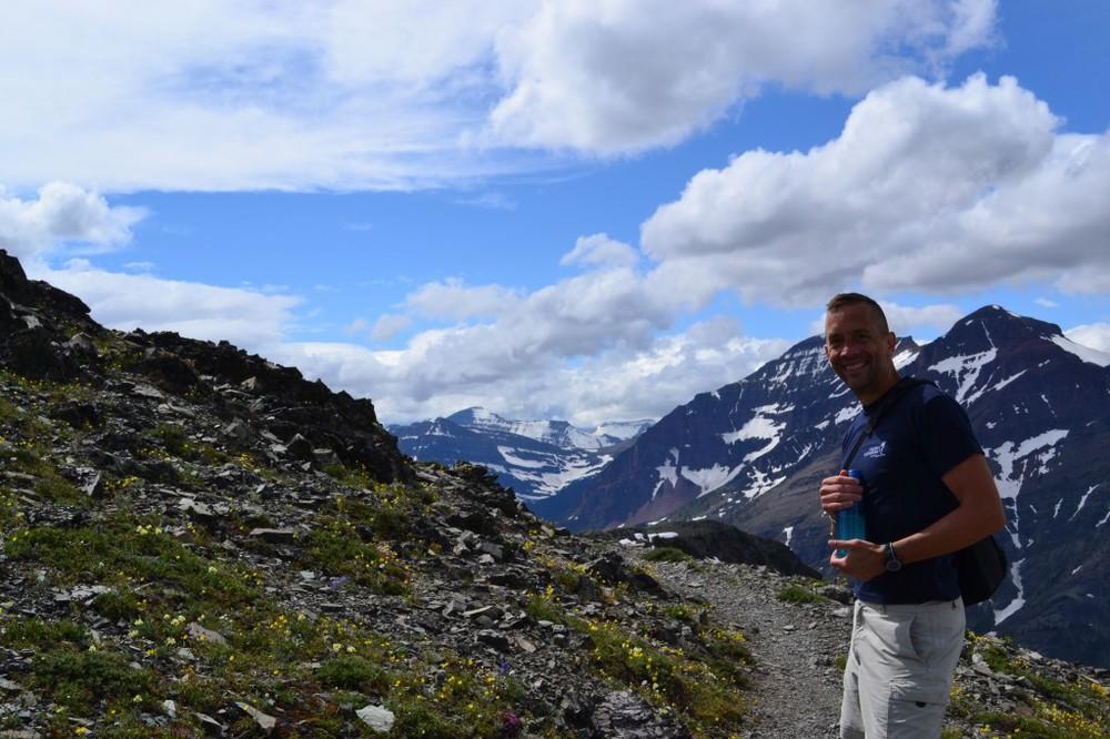 Glacier - Scenic Point trail