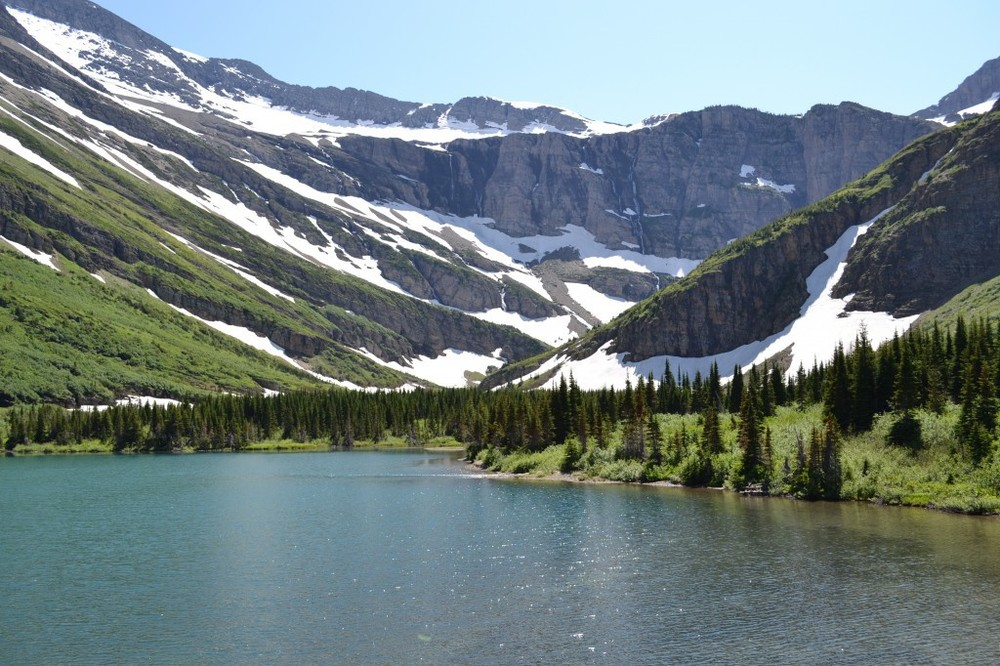 Swiftcurrent Valley - Bullhead Lake