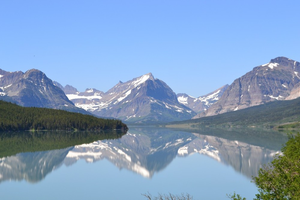 Glacier National Park - ideal conditions