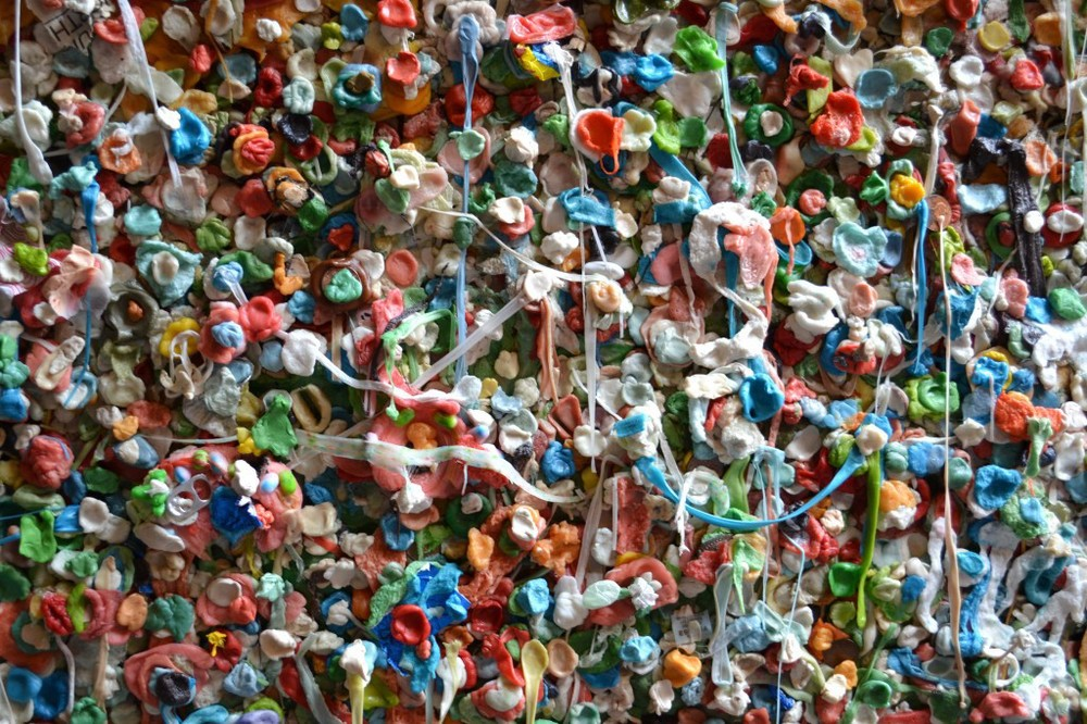 Seattle Art - Gum Wall