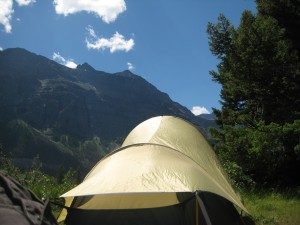 One of our favorite campsites - Glacier National Park