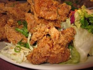 Chicken from Sidestreet Inn in Honolulu