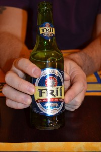 Our beer in Prague