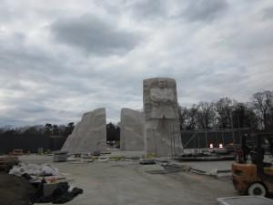 The MLKJ Memorial - in progress