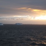 Antarctica - early morning approach