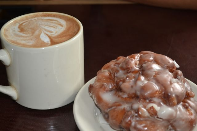 Top Pot's apple fritters are our weakness. Hint, hint.