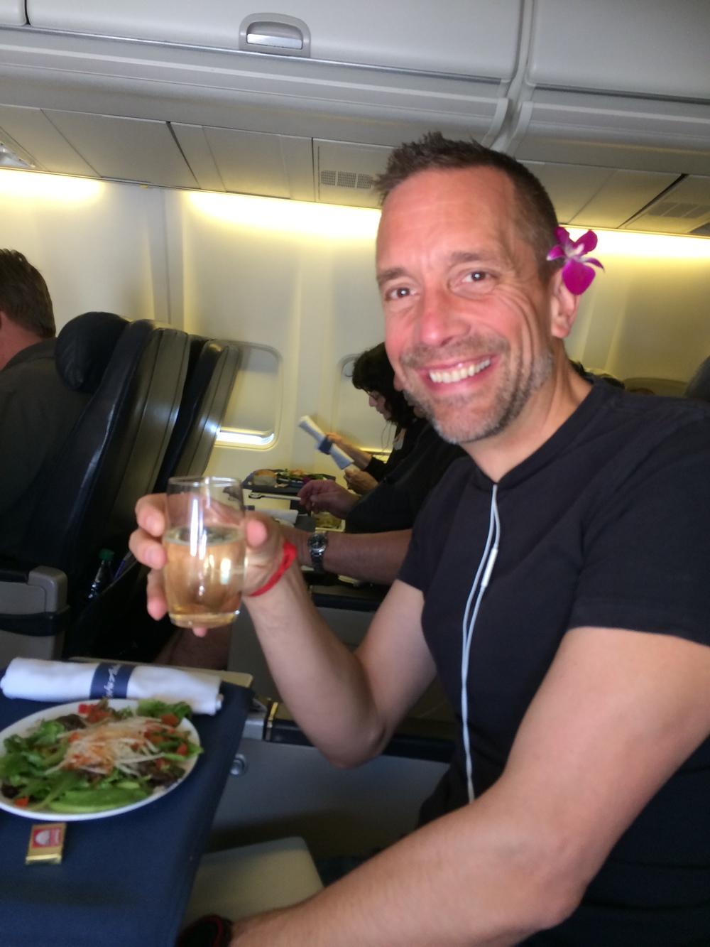 We got upgraded on Alaska Airlines. Love them!