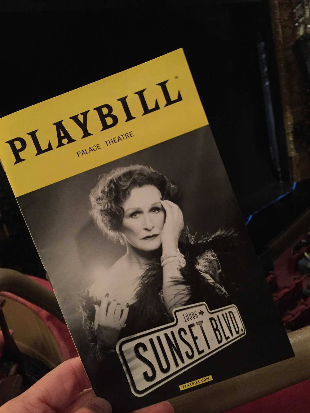 Glenn Close back in Sunset Boulevard for a well deserved  NYT Critics' Pick . We were  crazy  about it.
