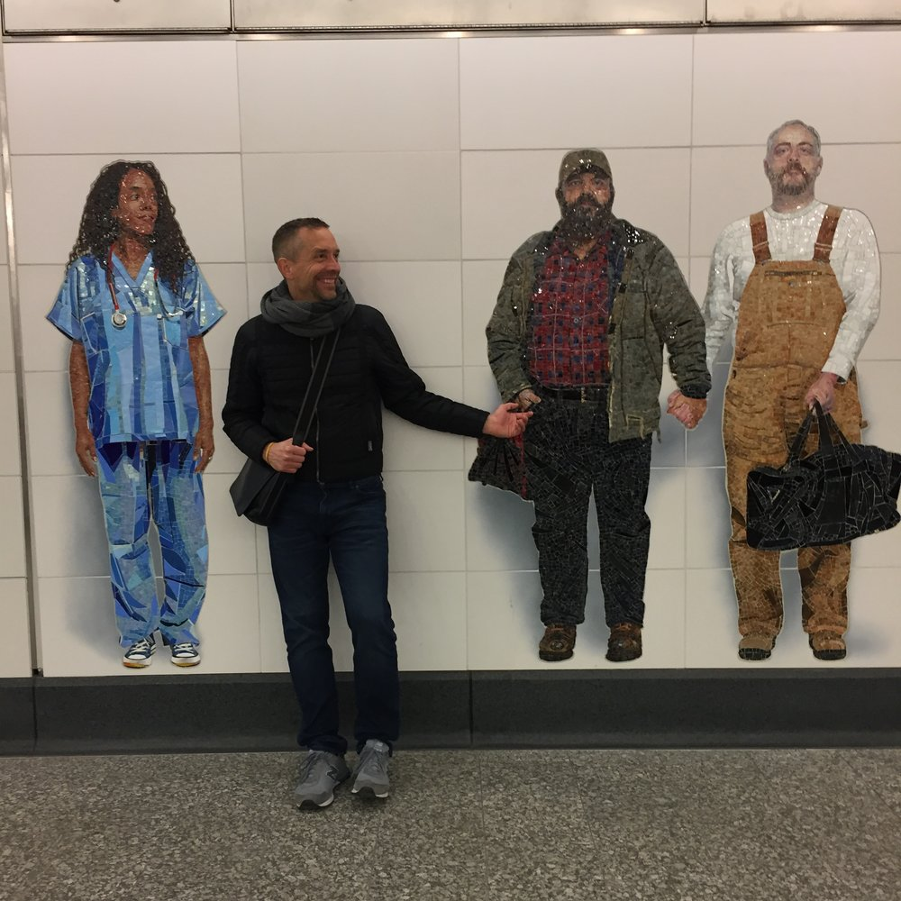 You can read more about New York City's Second Avenue Subway art  here .