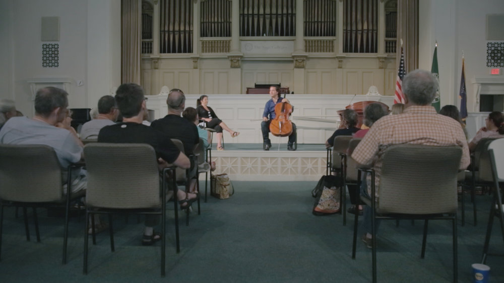 The Bach Cello Suites Workshop. Camera, Direction. 2016