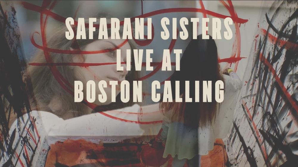 Camera, Edit. the Safarani twins performance at Boston Calling 2017.