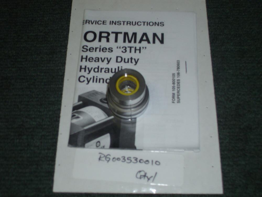 """CYL0001 (Cylinder 5/8"""" rod gland kit #RG003530010 S/N#761698A)"""