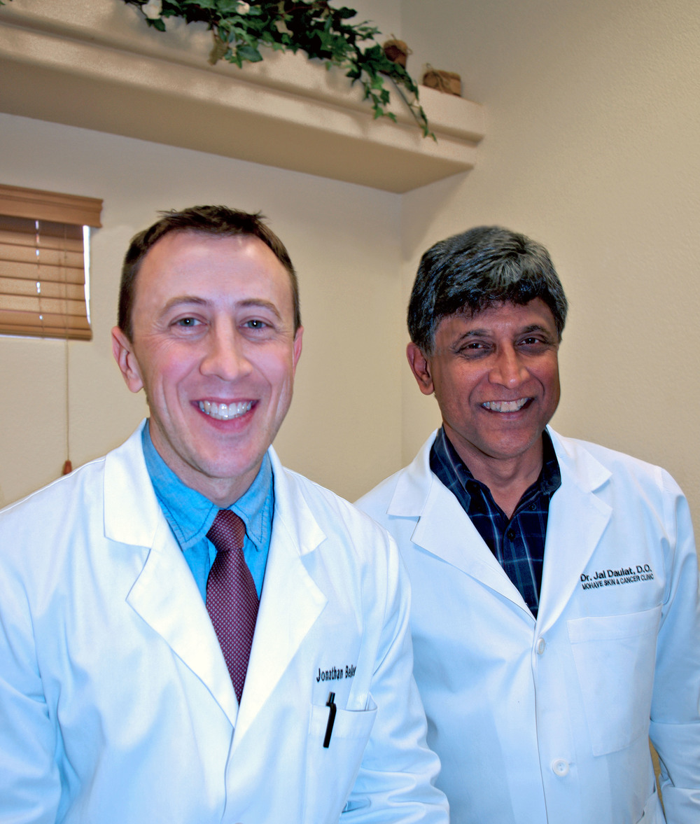 Dr. Jonathan Bellew and Dr. Jaldeep Daulat