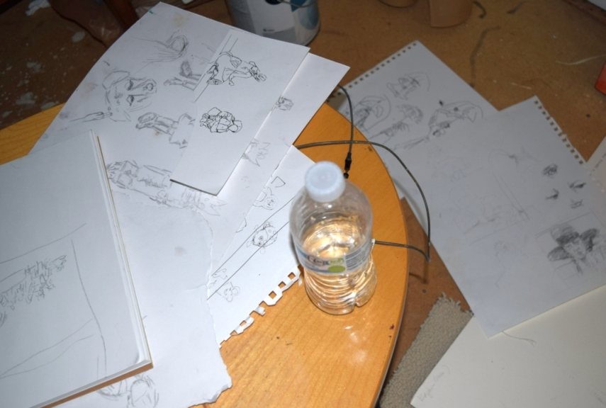 Inside the Studio, Drawings.JPG