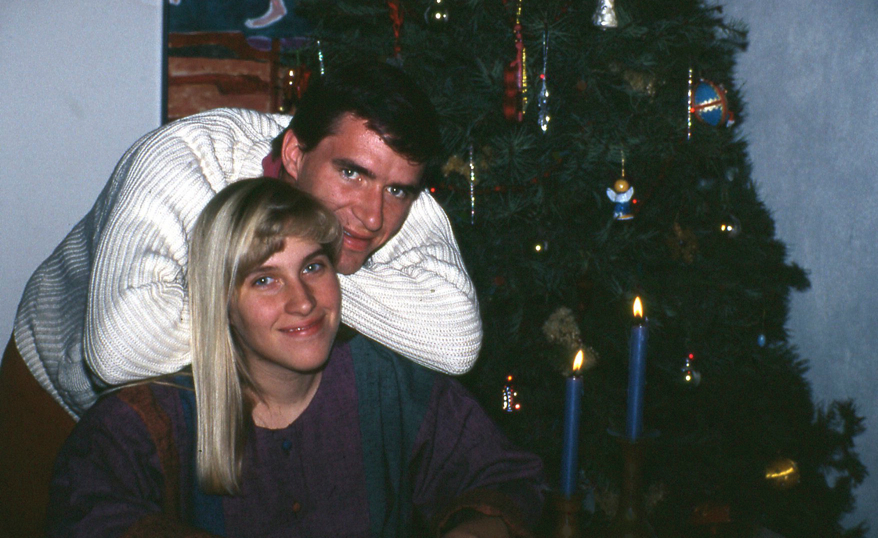 1990 - Newlyweds in Santa Fe