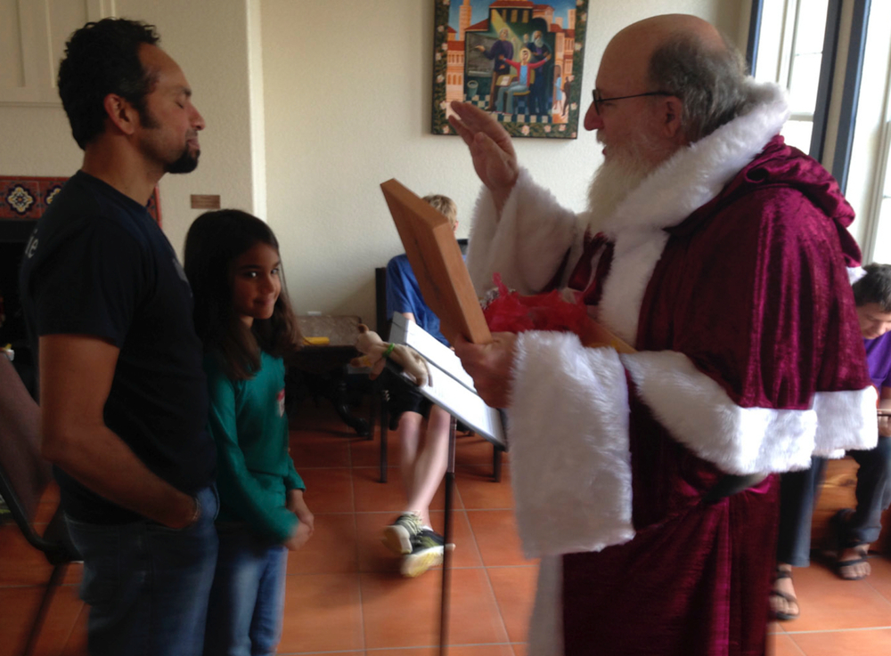 A blessing from St. Nicholas