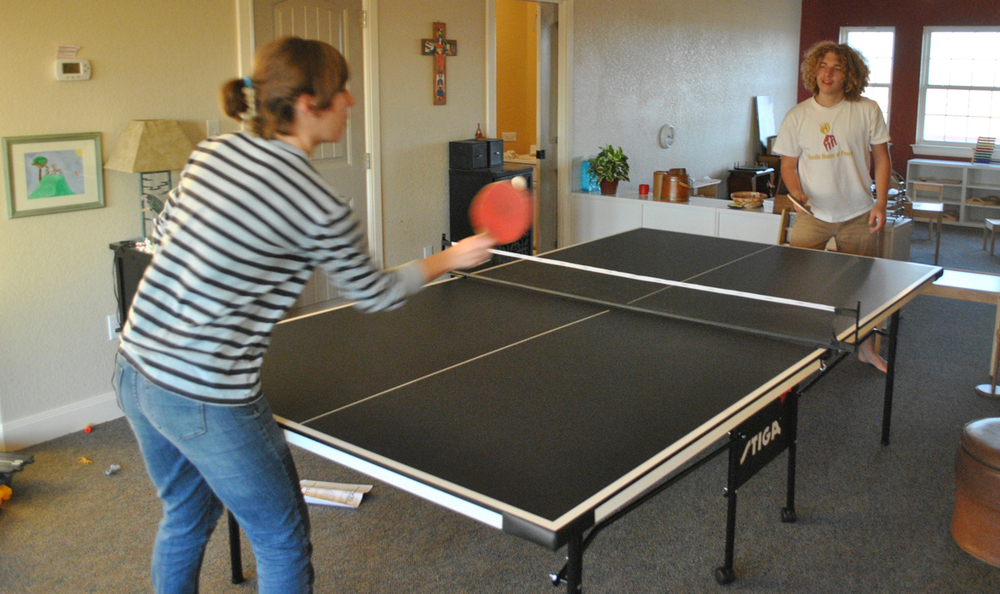 Ping-pong for the teens!