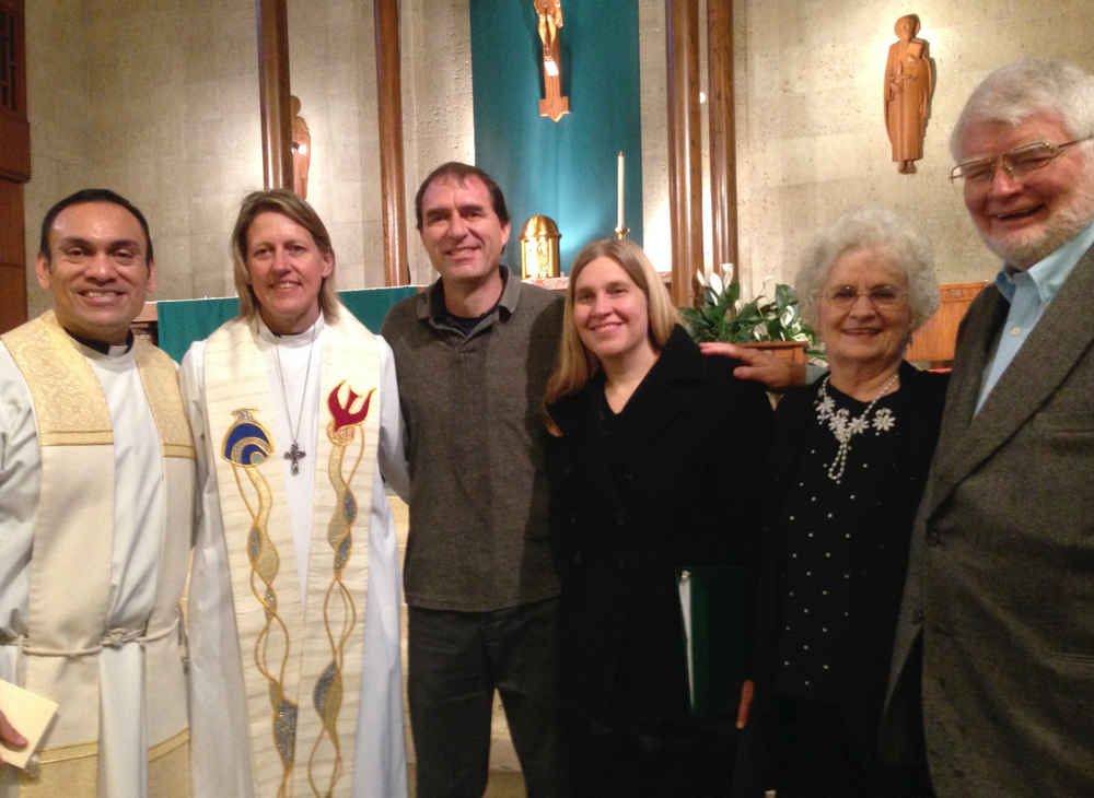 Thomas & Amy were privileged to join Fr. René, Rev. Carmen, plus Dan & Joann for a prayer service during the Week of Prayer for Christian Unity at St. Austin's Catholic Church.