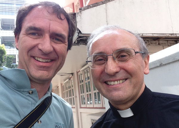 God arranged it such that I could meet a Papal Nuncio!