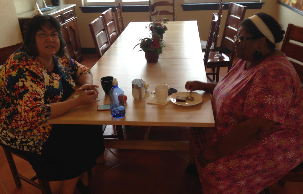 Powerful women of God having breakfast together