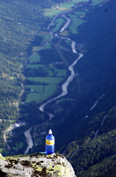 Rjukan from Gaustatoppen, Norway