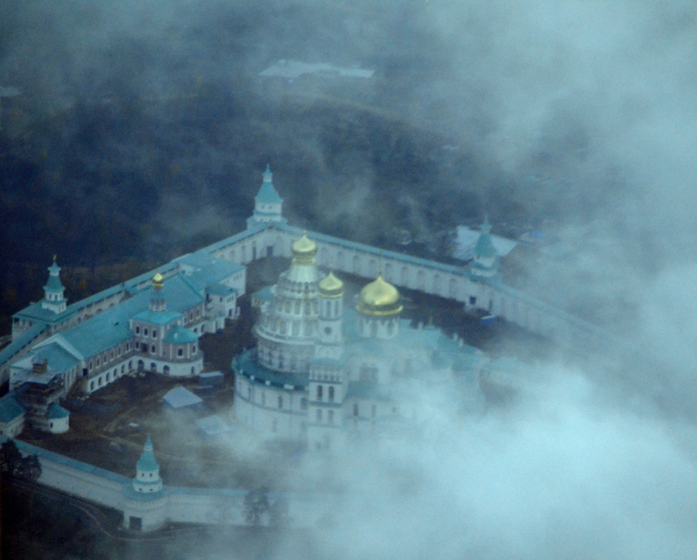 New Jerusalem Convent, Moscow - from the airplane