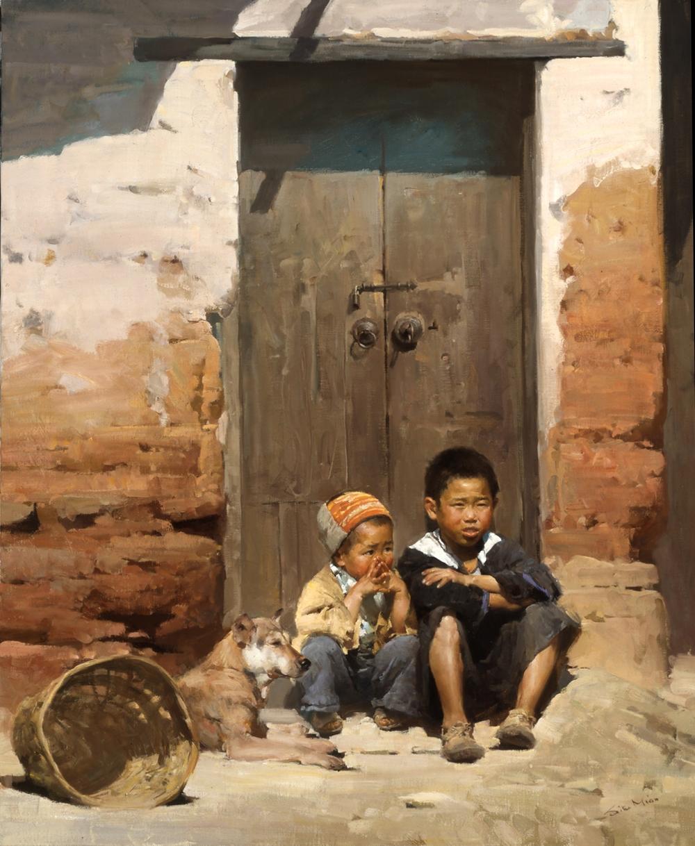 Mian Situ, USA. Waiting, Guangdong, China, 2000.