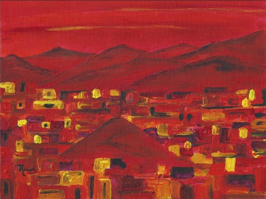 Leonardo Ramos, Ecuador. Red Hill Lights, 2013.
